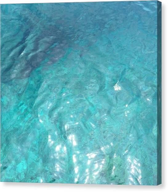 Scuba Diving Canvas Print - Sea1 by Yuuki Matsumoto