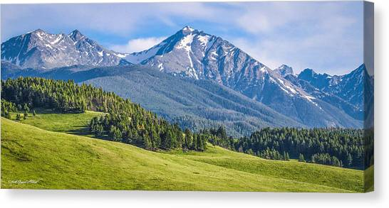 #215 - Spanish Peaks, Southwest Montana Canvas Print