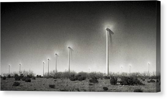21st Century Green Canvas Print by Mike McMurray