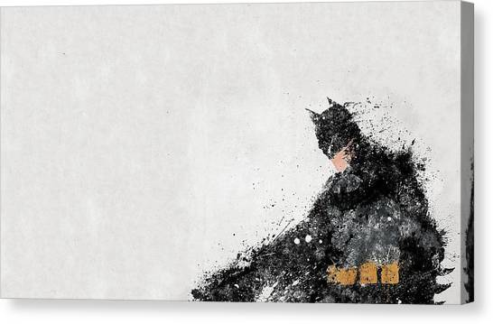Old Age Canvas Print - Batman by Super Lovely