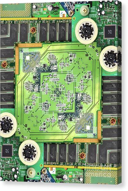 Circuitry Canvas Prints (Page #3 of 9) | Fine Art America