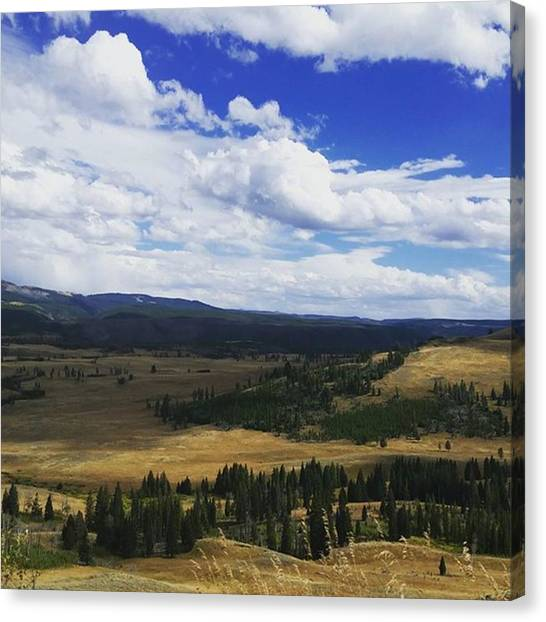 Rocky Mountains Canvas Print - Montana Paradise by Jonathan Stoops