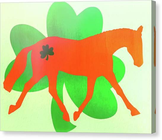 Celtic Lengthen Trot  Canvas Print by JAMART Photography