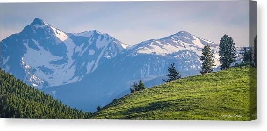 #238 - Spanish Peaks, Southwest Montana Canvas Print