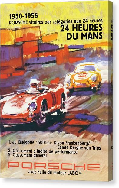 24 Hours Of Le Mans Canvas Print