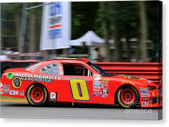 Richard Childress Canvas Print - Nascar Stockcar Racing by Douglas Sacha