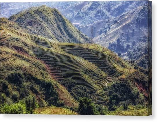 Vietnamese Canvas Print - Sapa - Vietnam by Joana Kruse