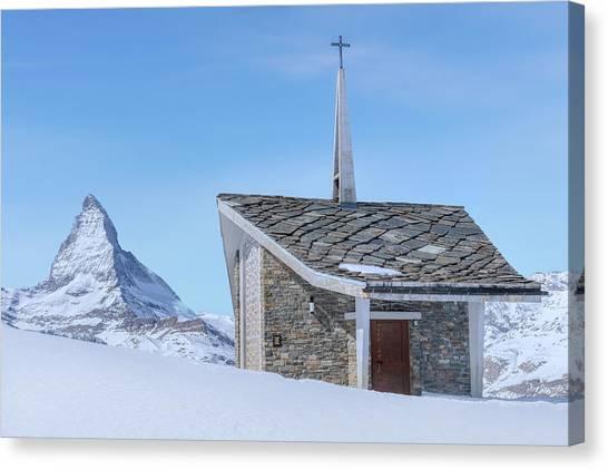 Matterhorn Canvas Print - Zermatt - Switzerland by Joana Kruse
