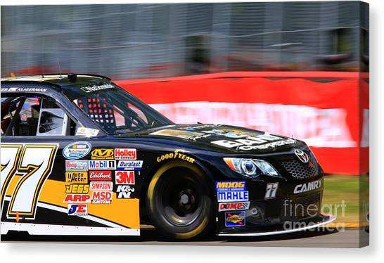 Richard Childress Canvas Print - Camry Racing by Douglas Sacha