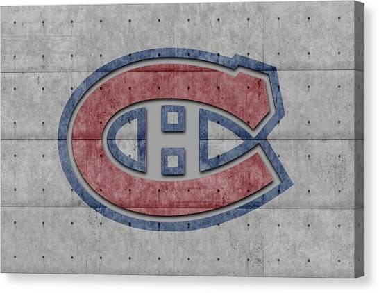 Montreal Canadiens Canvas Print - Montreal Canadiens by Joe Hamilton