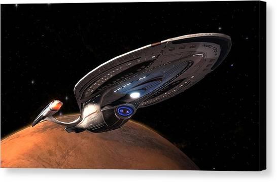 Star Trek Canvas Print - Star Trek by Super Lovely