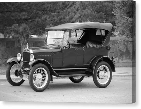 '27 T Touring Canvas Print by Jon Rossiter