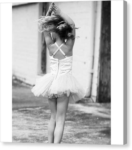 Ballerinas Canvas Print - Instagram Photo by Ozan Atak