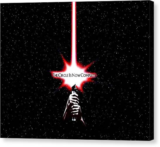 Swordfish Canvas Print - Star Wars by Super Lovely