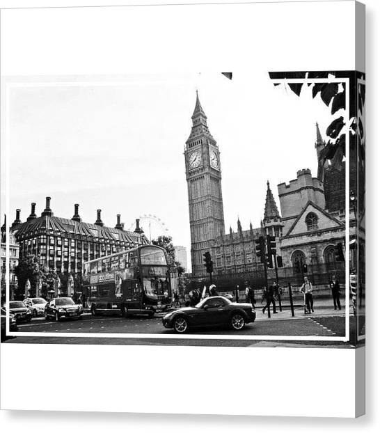 United Kingdom Canvas Print - Instagram Photo by Kheera Selune Coleman