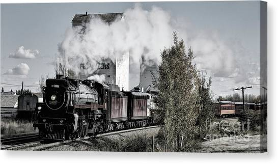 Canvas Print featuring the photograph 2816 At Dewinton by Brad Allen Fine Art