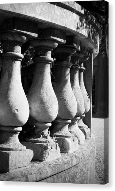 Balusters Canvas Print - Stone Wall by Tom Gowanlock