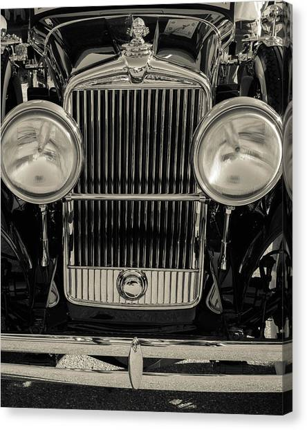 Canvas Print featuring the photograph '29 Stutz by Samuel M Purvis III