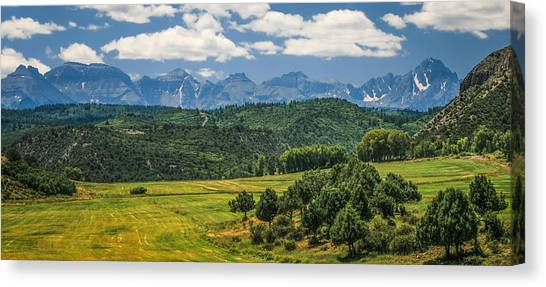 #2918 - Sneffles Range, Colorado Canvas Print