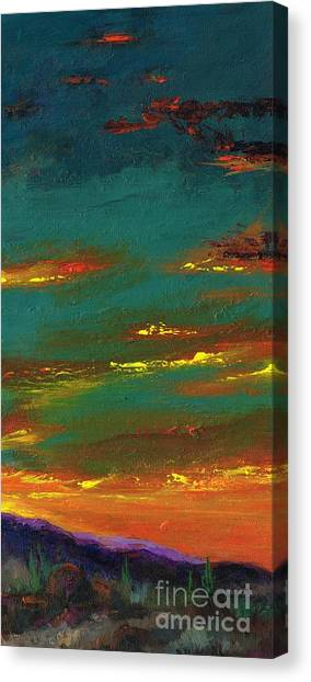 2nd In A Triptych Canvas Print
