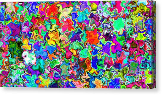 2x1 Abstract 310 Canvas Print by Rolf Bertram
