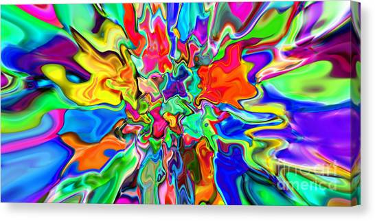2x1 Abstract 311 Canvas Print by Rolf Bertram