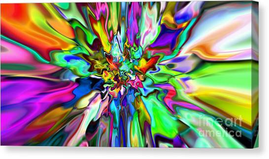2x1 Abstract 315 Canvas Print by Rolf Bertram