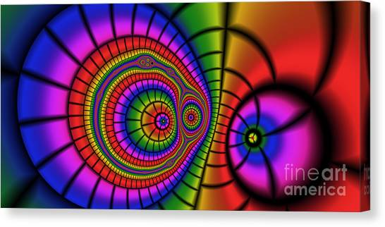 2x1 Abstract 362 Canvas Print by Rolf Bertram