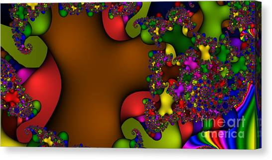 2x1 Abstract 364 Canvas Print by Rolf Bertram