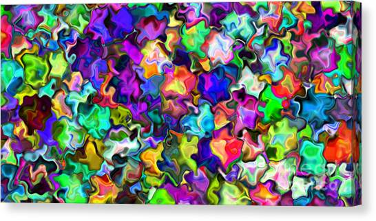 2x1 Abstract 366 Canvas Print by Rolf Bertram