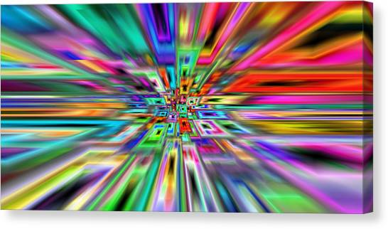 2x1 Abstract 403 Canvas Print by Rolf Bertram