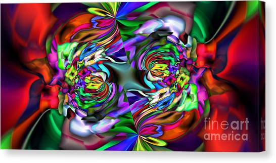 2x1 Abstract 407 Canvas Print by Rolf Bertram