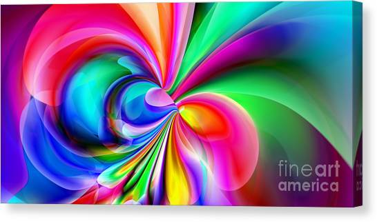 2x1 Abstract 416 Canvas Print by Rolf Bertram