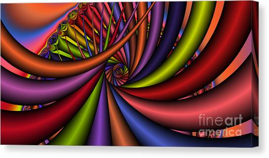 2x1 Abstract 430 Canvas Print by Rolf Bertram