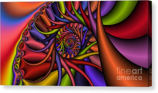 2x1 Abstract 432 Canvas Print by Rolf Bertram