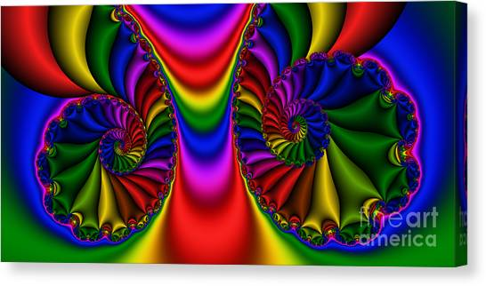2x1 Abstract 440 Canvas Print by Rolf Bertram