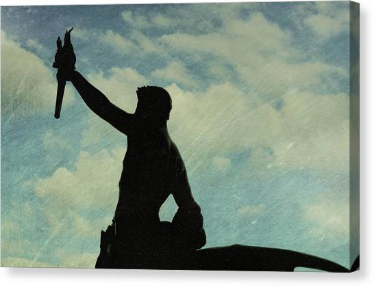 Against The Sky Canvas Print by JAMART Photography