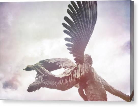 Airborne Angel Canvas Print by JAMART Photography