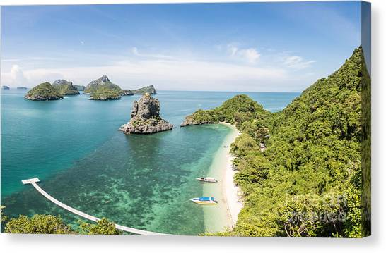 Ang Thong Marine National Park Canvas Print