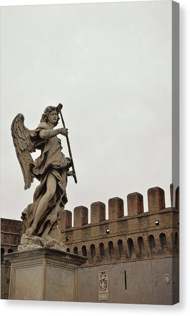 Angel With Sponge Canvas Print by JAMART Photography