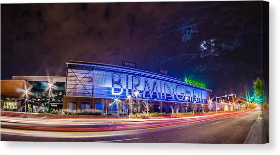 April 2015 - Birmingham Alabama Regions Field Minor League Baseb Canvas Print