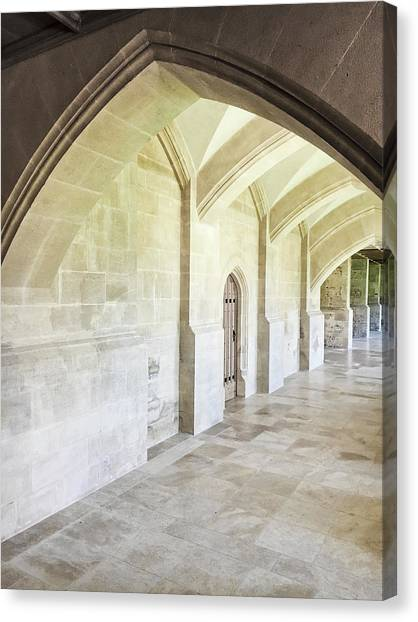 Renovation Canvas Print - Arches by Tom Gowanlock