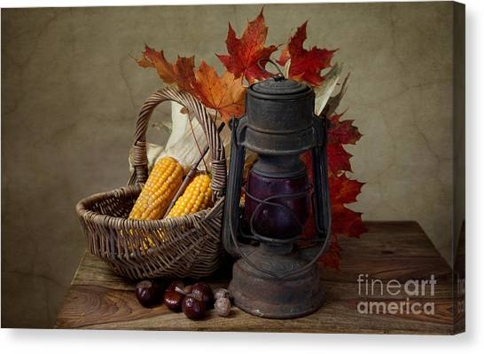 Vegetables Canvas Print - Autumn by Nailia Schwarz