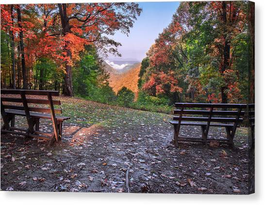 Babcock State Park Canvas Print