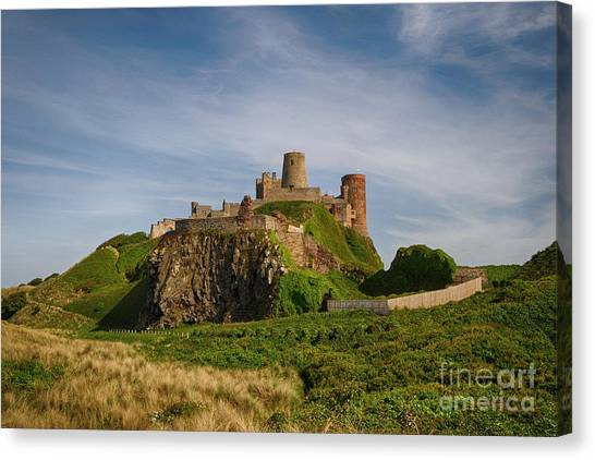 Castle Canvas Print - Bamburgh Castle by Smart Aviation