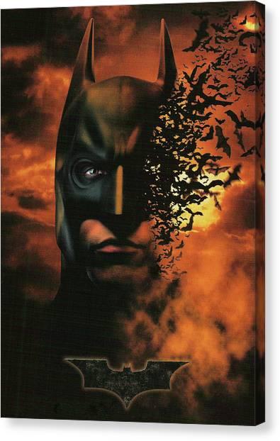 Batman begins canvas prints fine art america batman begins canvas print batman begins 2005 by geek n rock voltagebd Image collections