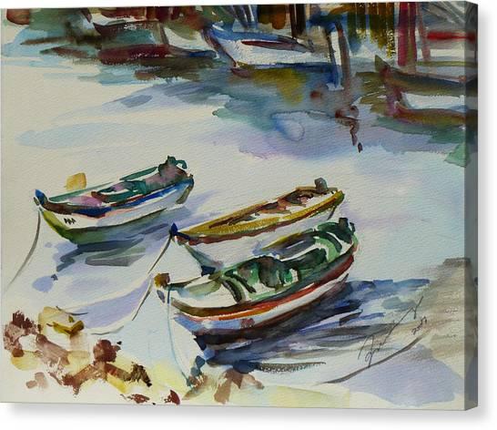 3 Boats I Canvas Print