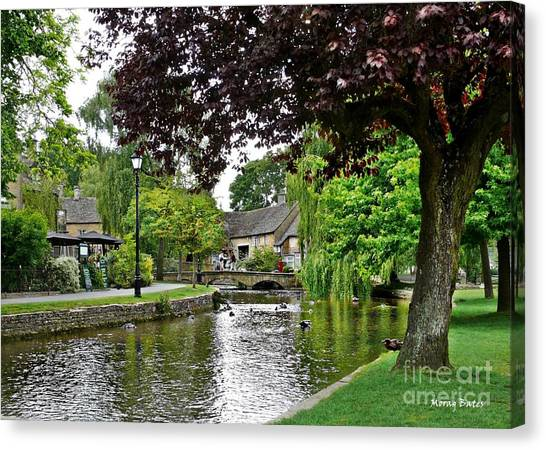 Bourton-on-the-water Canvas Print