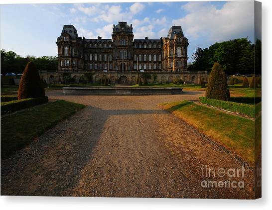 Museums Canvas Print - Bowes Museum by Smart Aviation