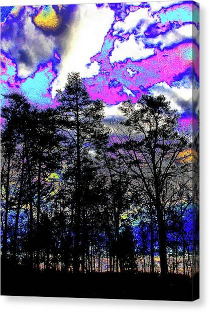 Brash Braddock Sunset Canvas Print